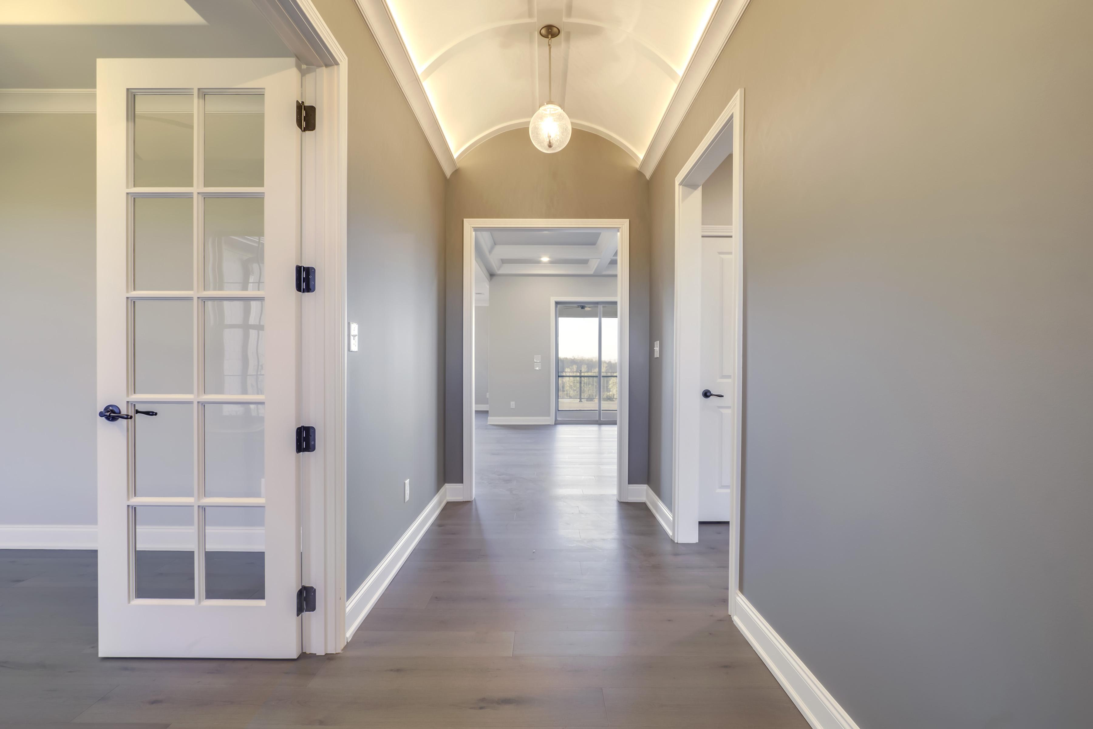 Cook Bros. Homes Interior Hallway | Hummingbird Drive