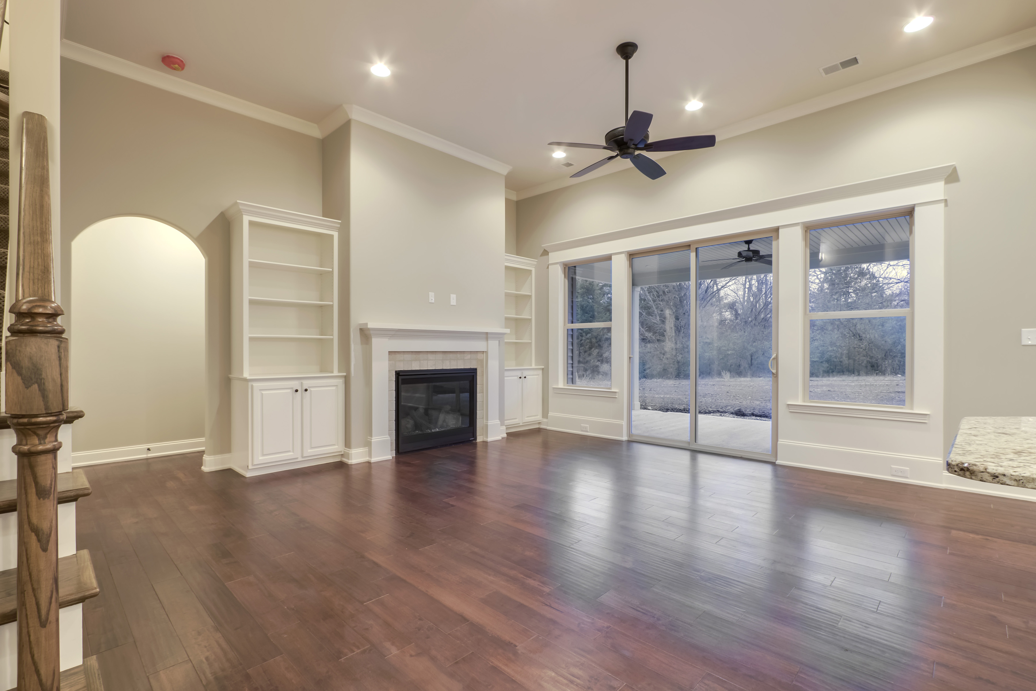 Cook Bros. Homes Living Room | Tommotley Drive