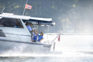 15. You don't have to leave the neighborhood to go boating