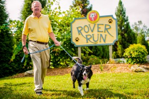 16. Your dog can catch up with dog friends at Rover Run Dog Park