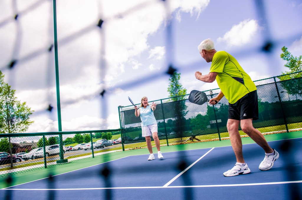 32. Pickleball is your new favorite sport