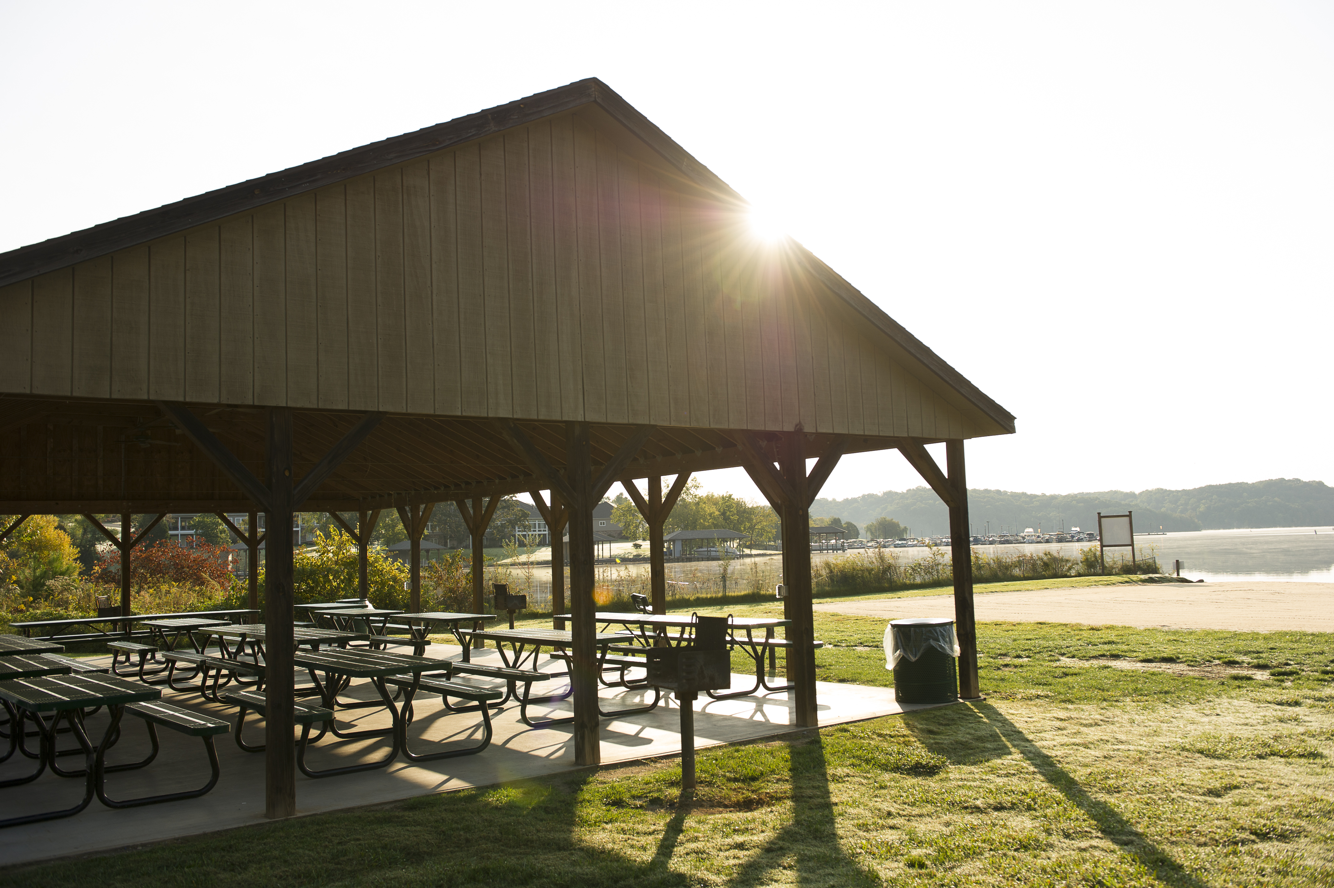 39. You get to host your family reunion at the Family Park and Beach Pavilion