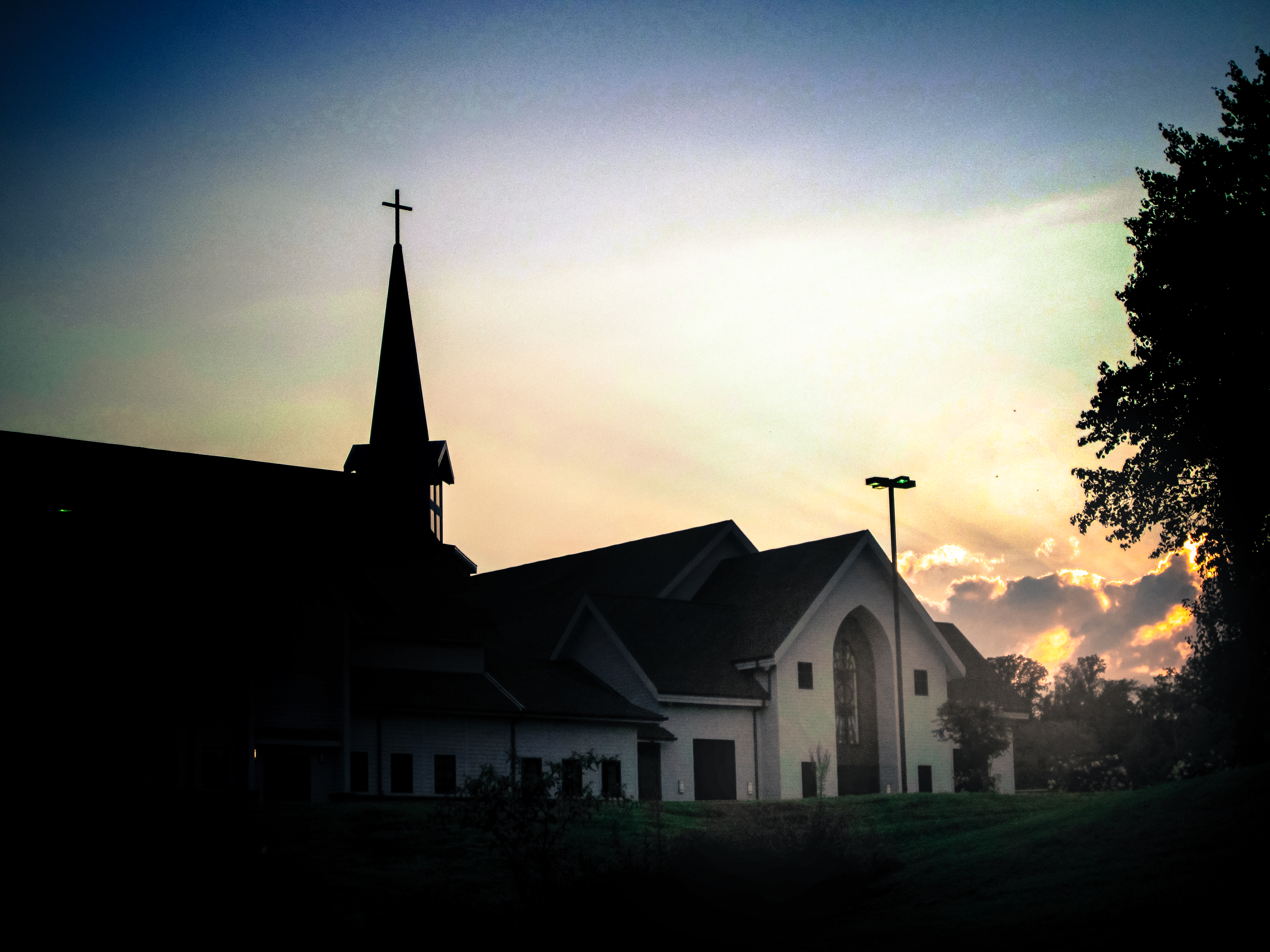 46. There are churches for most every denomination