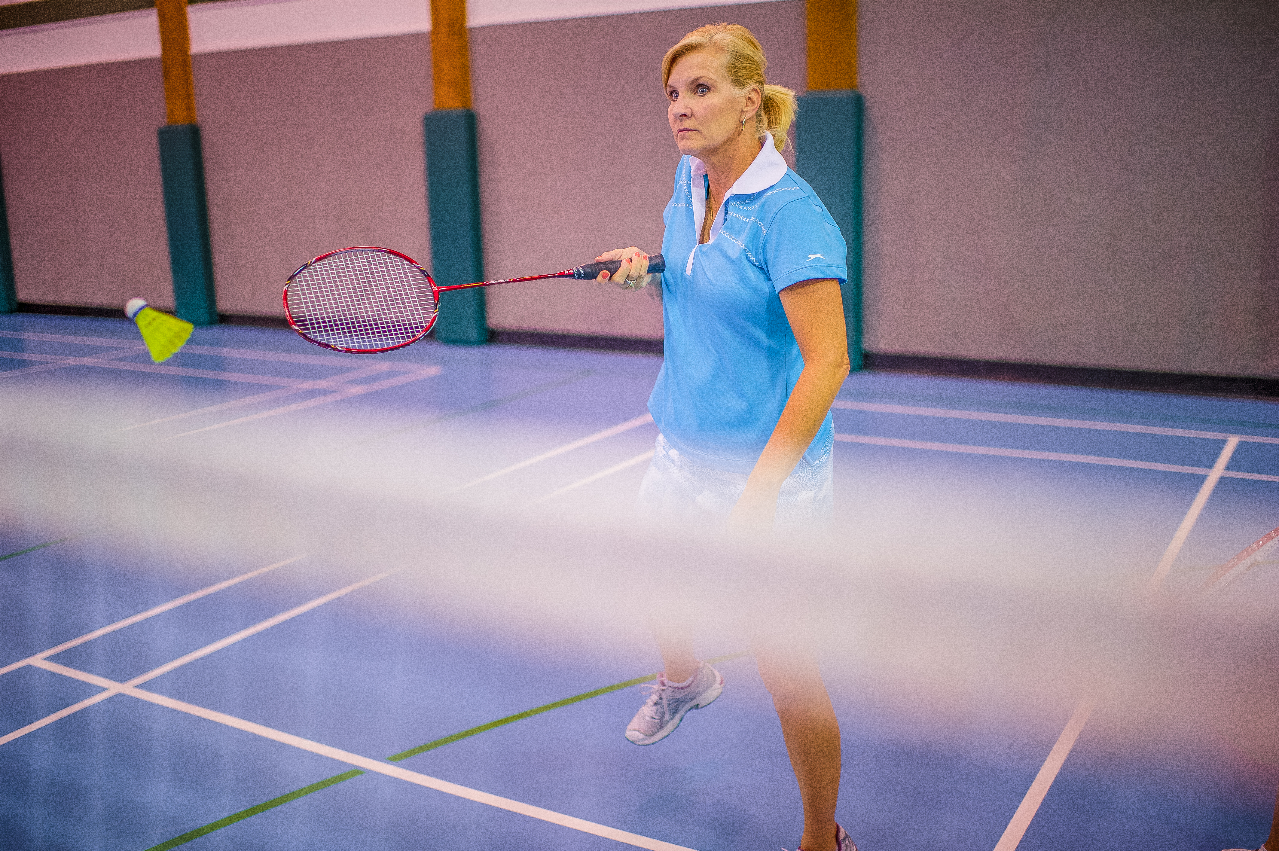51. You can brush up on your badminton at the Chota Recreation Center