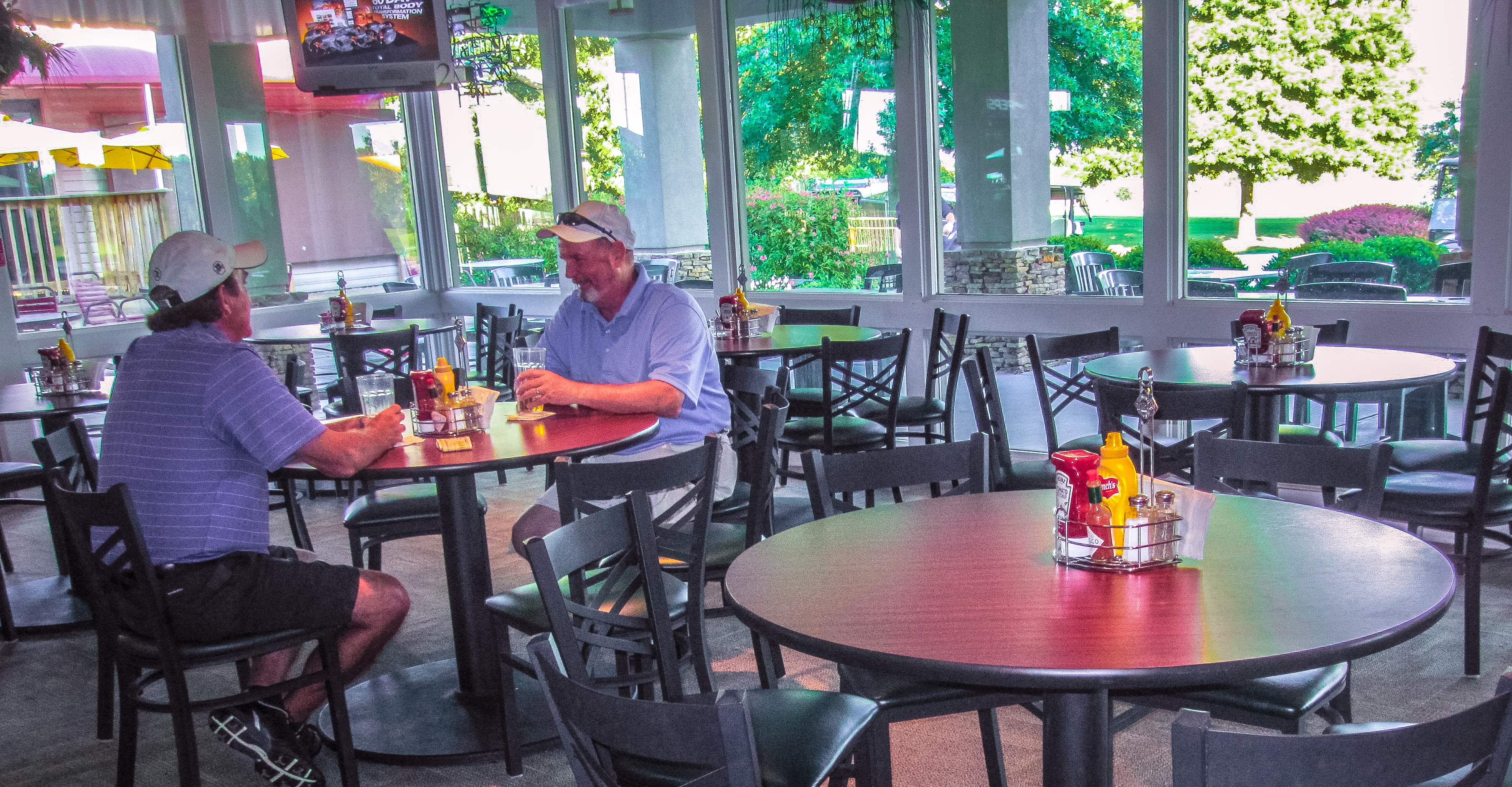 52. You can grab a burger and hang out with friends at the Kahite Pub and Grill