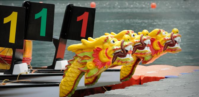 Tellico Village Launches New Dragonboat Club