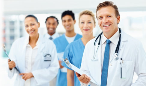 Stock photo of a medical staff.