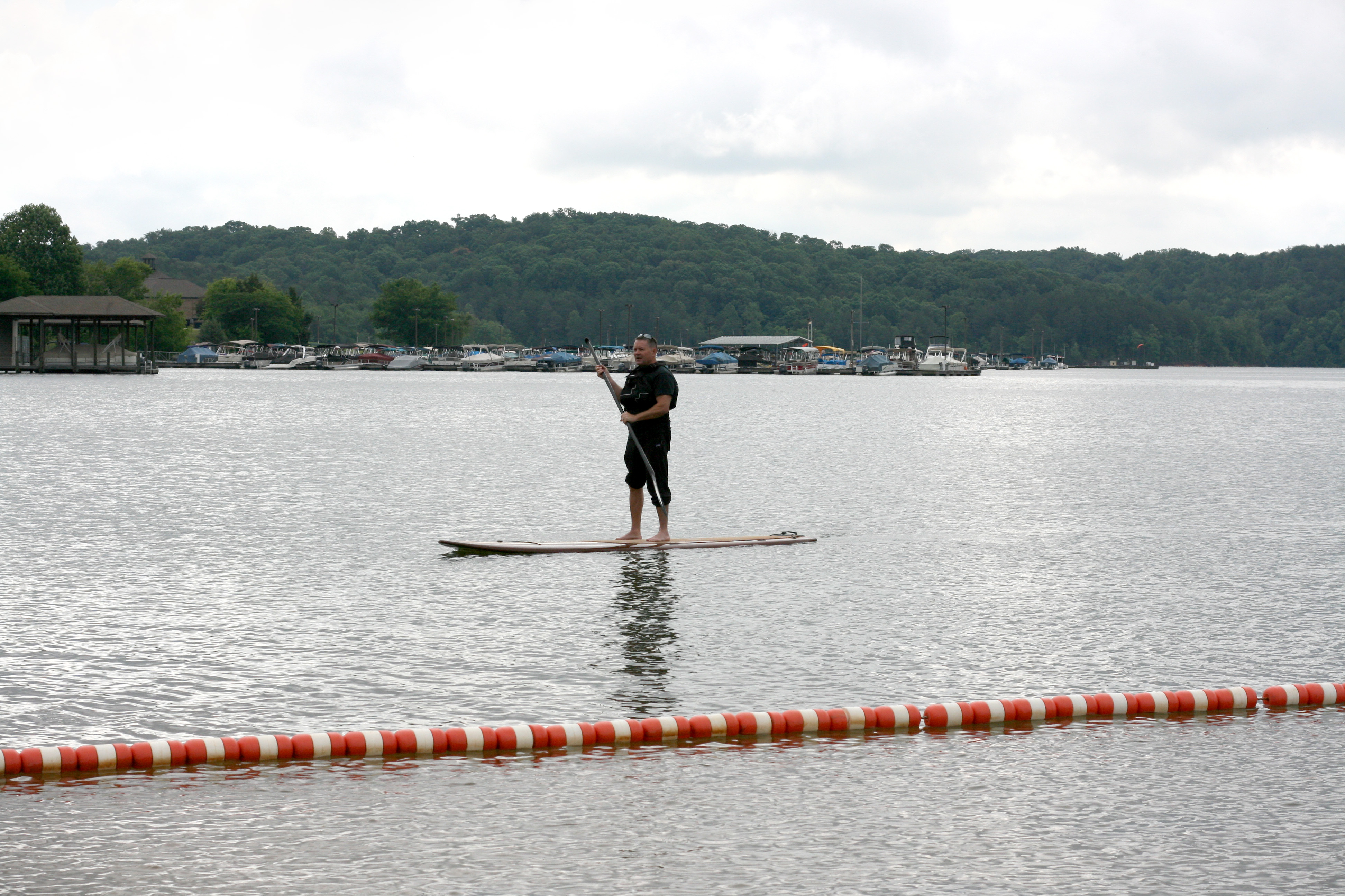 Villagers Giving Paddle Boarding a Try 8