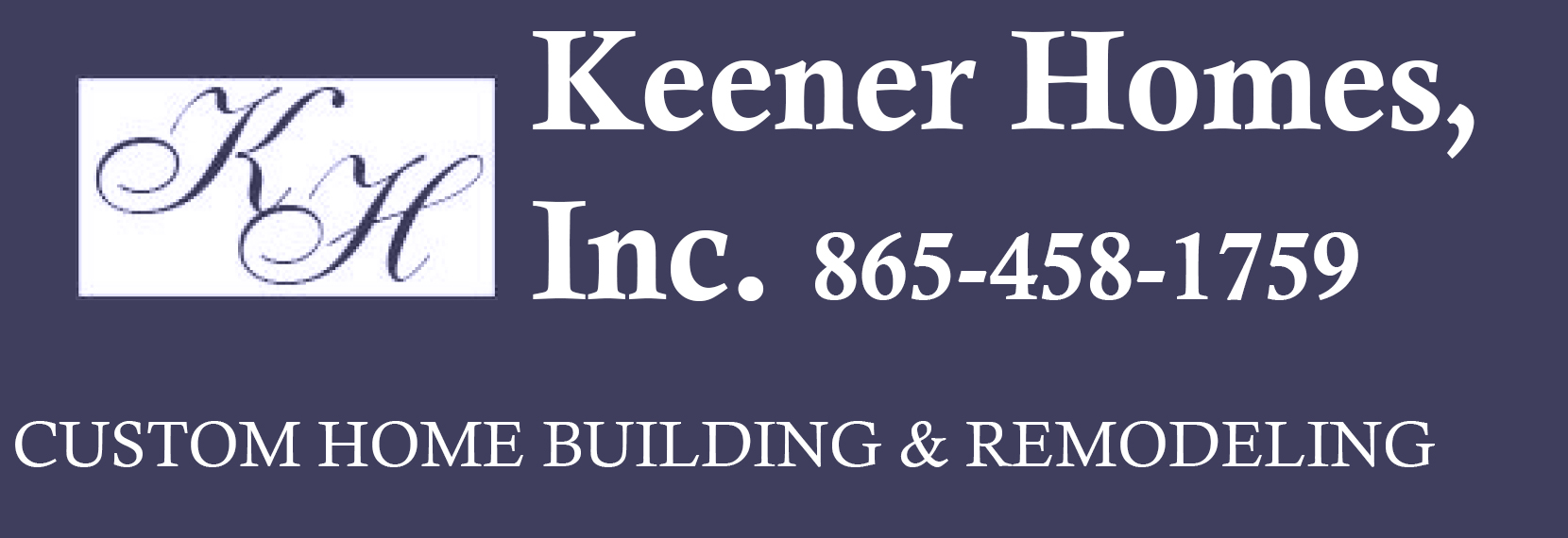 Keener Homes, Inc. Logo