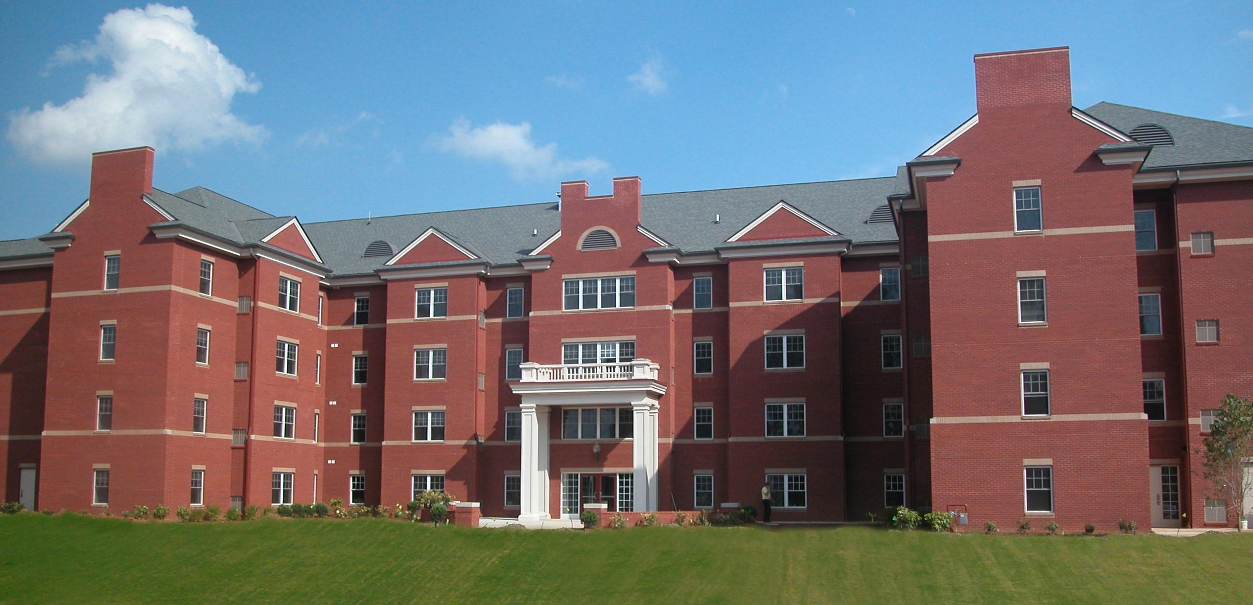 Maryville College Courtyard Filled In 8 8 03 Tellico Village