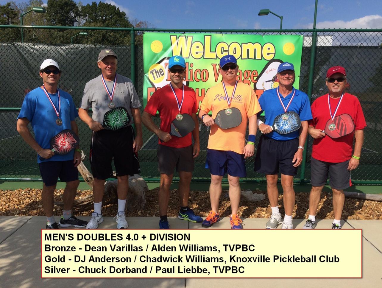 Men's Doubles - 4.0+ Division