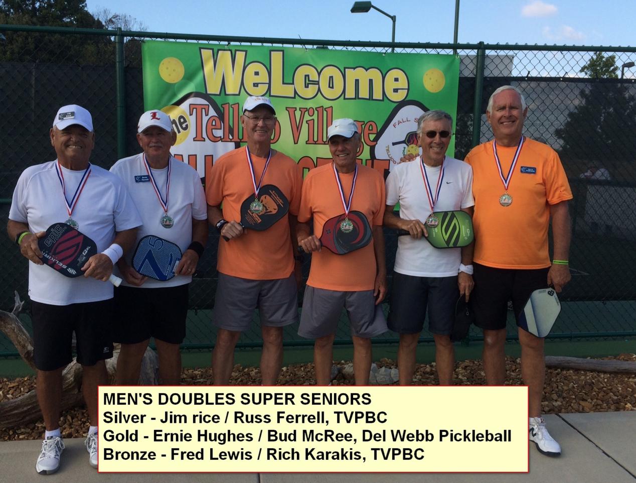 Men's Doubles - Super Seniors