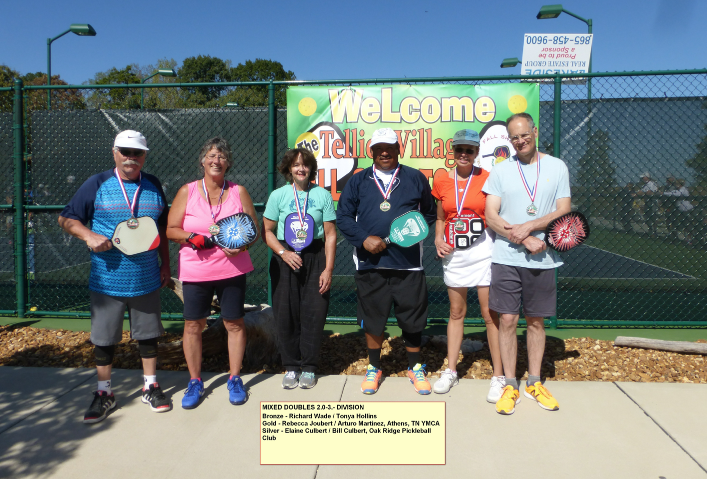 Mixed Doubles - 2.0-3.0 Division