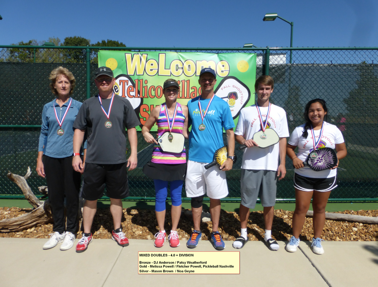 Mixed Doubles - 4.0+ Division