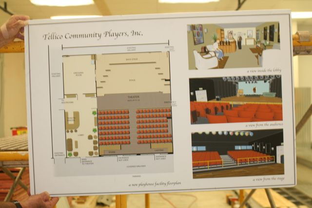 Tellico Community Playhouse blueprints