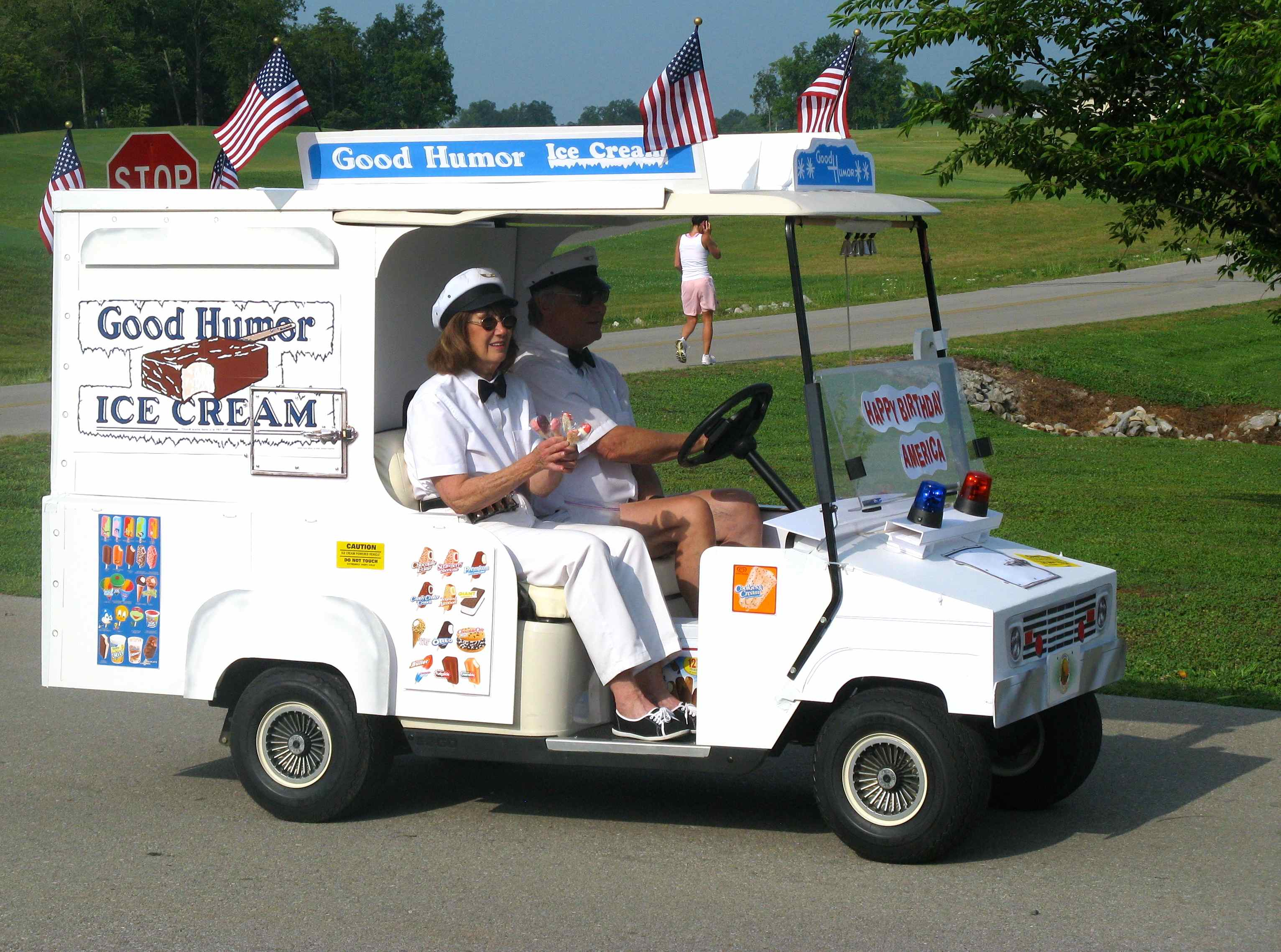 July Fourth celebrations, Good Humor ice cream truck