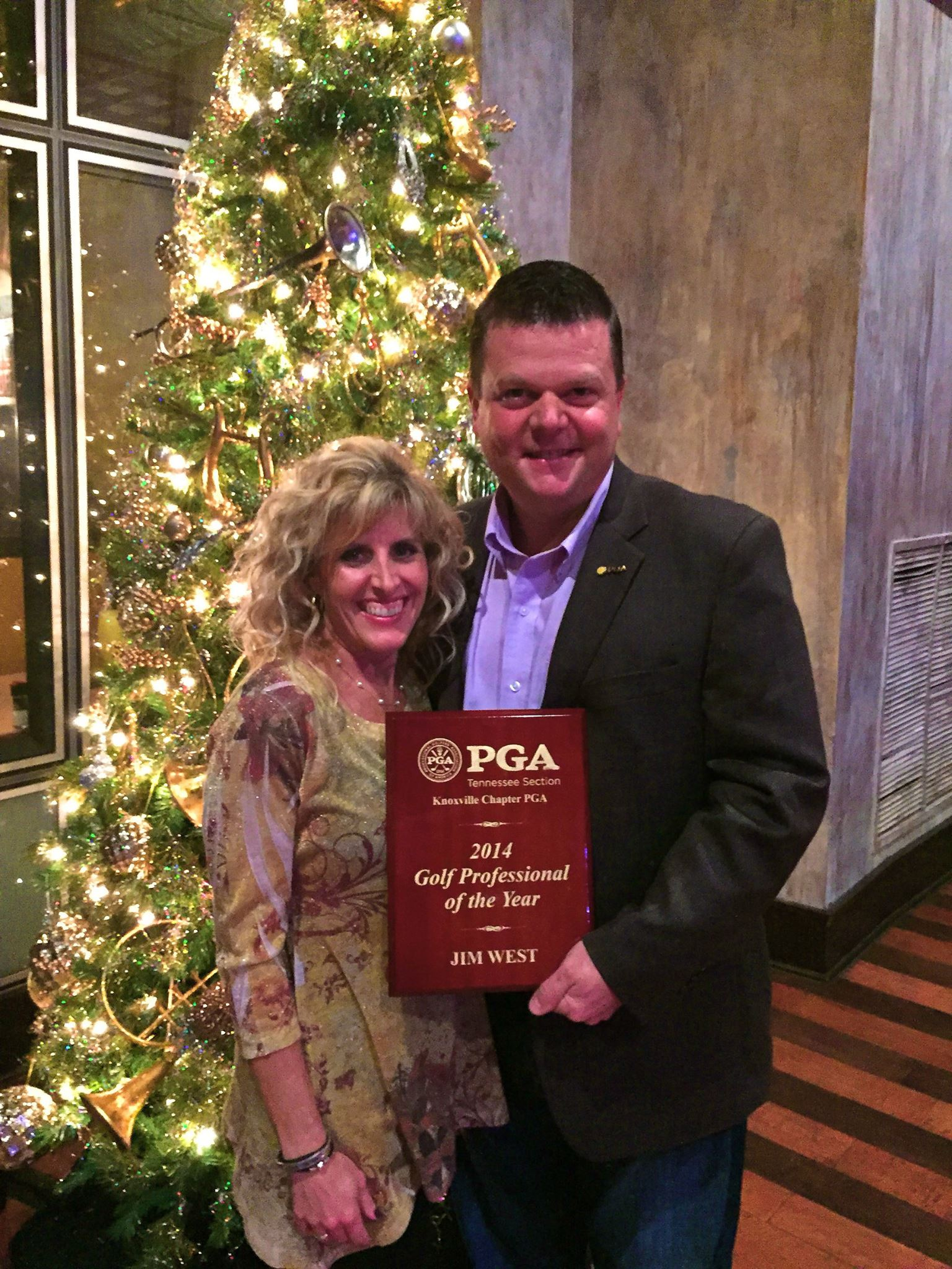 Jim and Nikki West | 2014 Gold Professional of the Year Award
