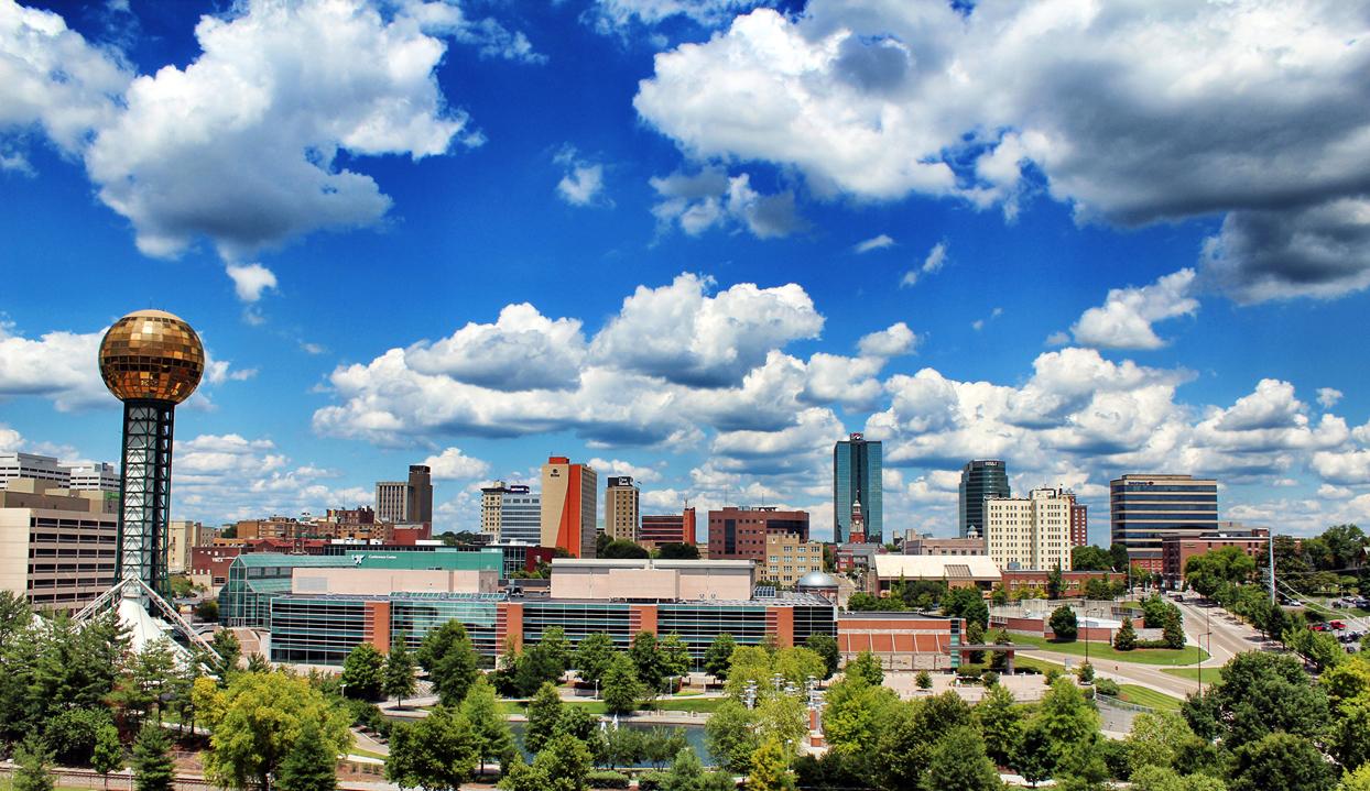 Knoxville City Skyline