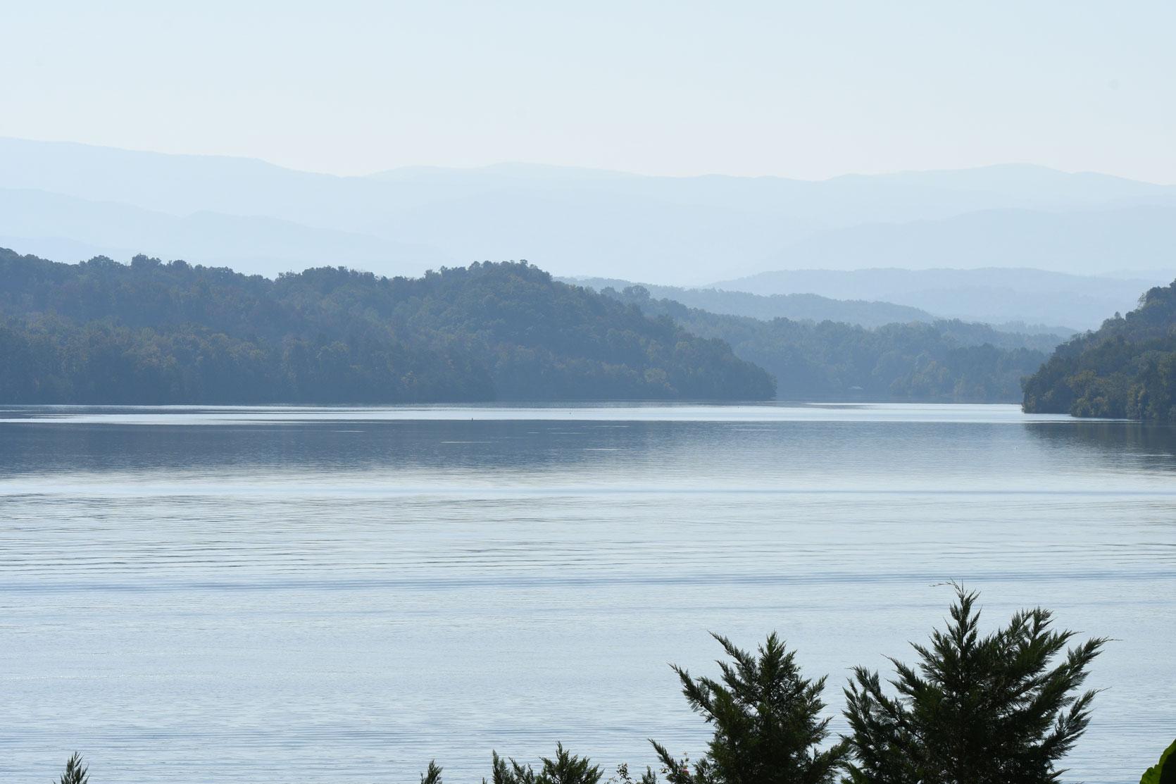 Daytime view of Tellico Lake