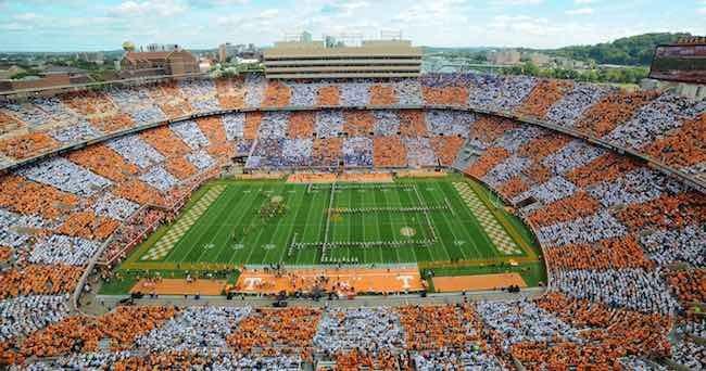 University Of Tennessee Neyland Stadium