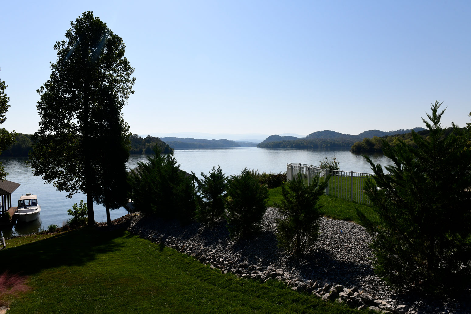 View from Tellico Village yacht club